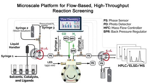 Platform for High-Throughput Reaction Screening