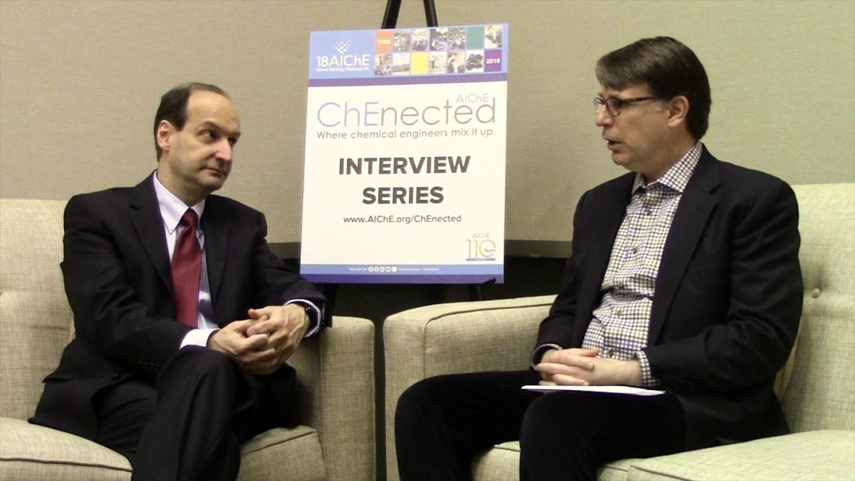 Prof. Velev During AIChE Interview
