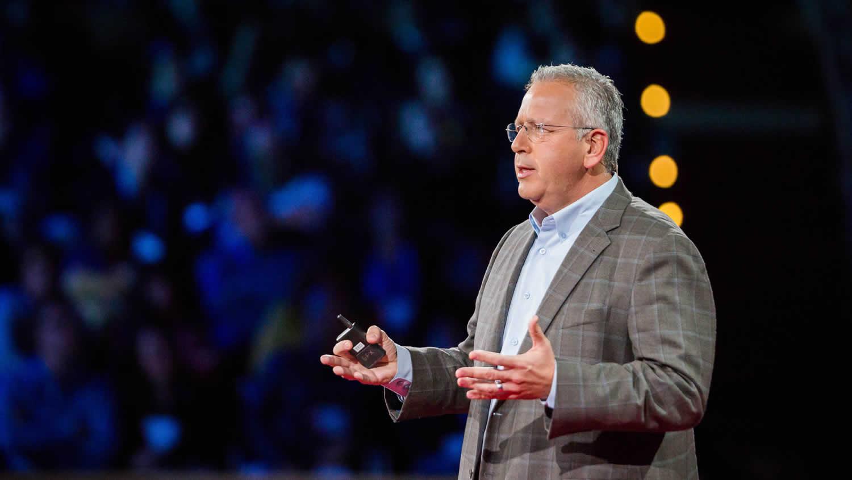 Prof DeSimone make his TED talk